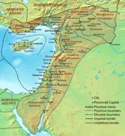 Dioecesis Orientis 400 AD