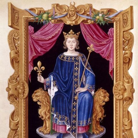 一幅16世紀的關於腓力四世的畫像