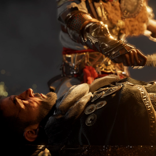 Rufio sent to the Duat by Bayek