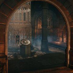 La salle de l'armure