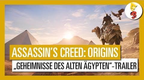 "Assassin's Creed Origins E3 2017 ""Geheimnisse des alten Ägypten""-Trailer"
