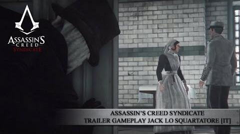Assassin's Creed Syndicate - Trailer Gameplay Jack lo Squartatore IT