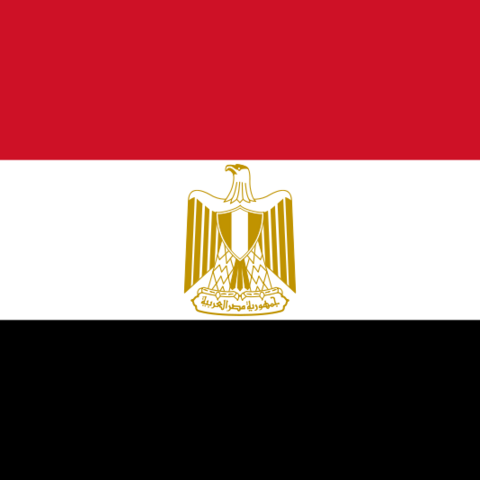 Drapeau Egyptienne
