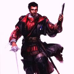 Original concept art for Machiavelli as shown at the <i>Assassin's Creed</i> Art Exhibition