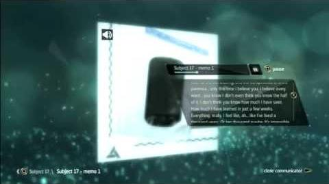 AE files:Subject 17 - memo 1