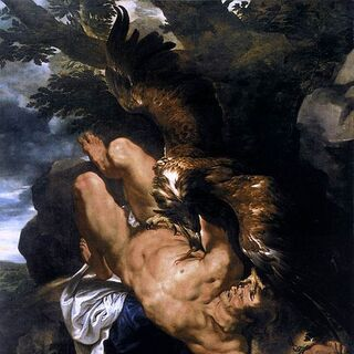 <i>Prometheus Bound</i>, by <a href=