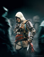 ACIV Edward Altaïr Pose Wallpaper