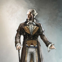 Concept art of Robespierre