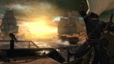 Assassin's Creed 3 - Морской трейлер с Gamescom