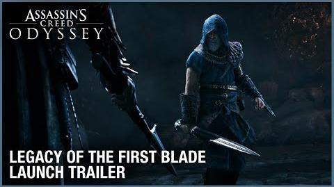 Assassin's Creed Odyssey Legacy of the First Blade DLC Launch Trailer Ubisoft NA