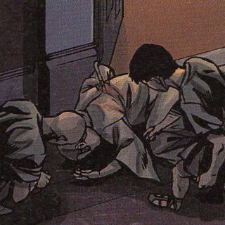 Des serviteurs découvrant le cadavre de <b>Faustin</b>