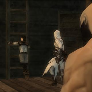 海盗们发现阿泰尔和玛利亚