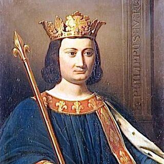 Portrait du roi <b>Philippe</b>
