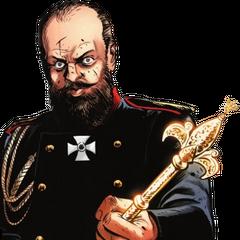权杖为沙皇亚历山大三世所用。