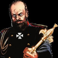 亚历山大三世手持权杖