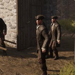 A group of mercenaries in Boston