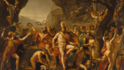 ACOD - Leonidas at Thermopylae - Jacques-Louis David