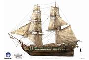 Assassin's Creed IV Black Flag -Ship- MerchantShipping by max qin