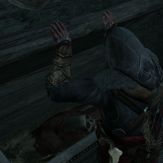弗拉德的骷髅出现在他自己的棺材中