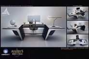 ACIV Abstergo Entertainment Bureau concept 2