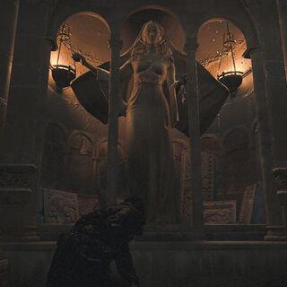 A statue of Juno in the <a href=