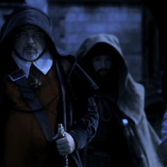 罗德里格带领着他的士兵穿过佛罗伦萨