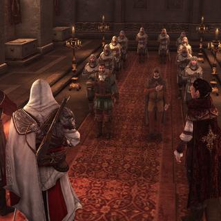 Bartolomeo et La Volpe parmi les Assassins