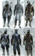 Armors 1-3 Renegade