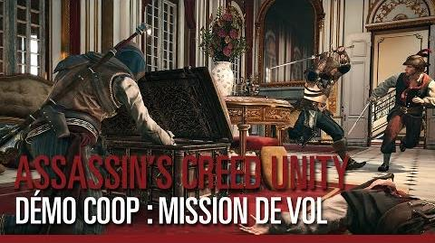 Assassin's Creed Unity - Démo Coop Mission de vol