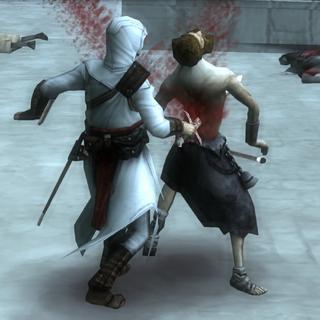 阿泰尔与狂信徒战斗