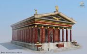 ACO Temple of Mars Exterior - Concept Art