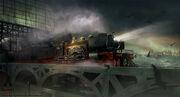 ACS Train Hideout - Concept Art