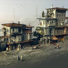 贫民区建筑