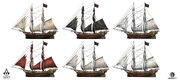AC4 Jackdaw Sail Customisation - Concept Art 2