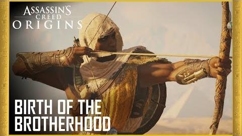 Assassin's Creed Origins Birth of the Brotherhood Trailer Ubisoft US
