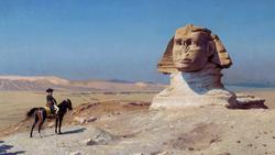 DTAE Napoleon before the Sphinx