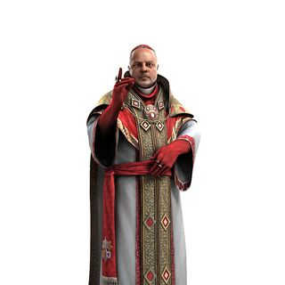 In-game model of Rodrigo Borgia as Pope.