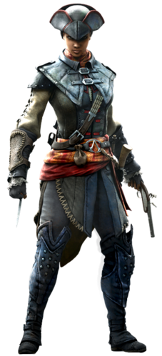 "Aveline w <a href=""/wiki/Assassin%E2%80%99s_Creed_III:_Liberation"" title=""Assassin's Creed III: Liberation"" class=""mw-redirect"">Assassin's Creed III: Liberation</a>"