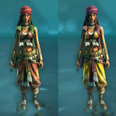 Alternative costumes for the Rebel