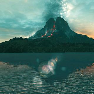博卡迪亚布罗的活火山