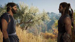 Lykaon und Alexios 3. Quest