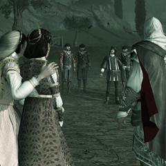 维耶里对峙埃齐奥以及他的家人