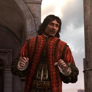 Copernicus giving a speech