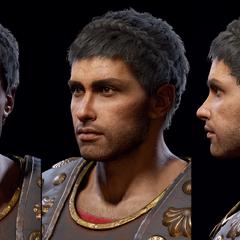 萨勒塔斯的头部模型