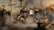 Assassins Creed Rogue TemplarVSAssassinCaptain