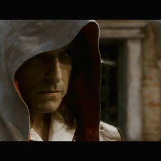 <b>Giovanni</b> enquêtant sur la conspiration des Templiers
