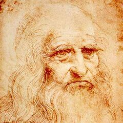 A self-portrait by Leonardo