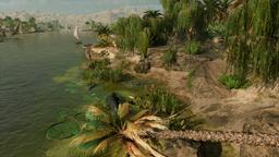 ACO Tanière de crocodiles Oasis du Fayoum