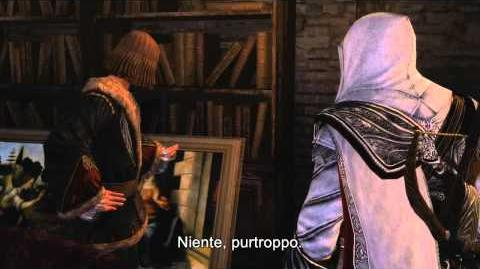 "Assassin's Creed Brotherhood DLC ""La Scomparsa di Da Vinci"" Trailer Single Player"