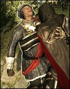 Ezio picchia un funzionario